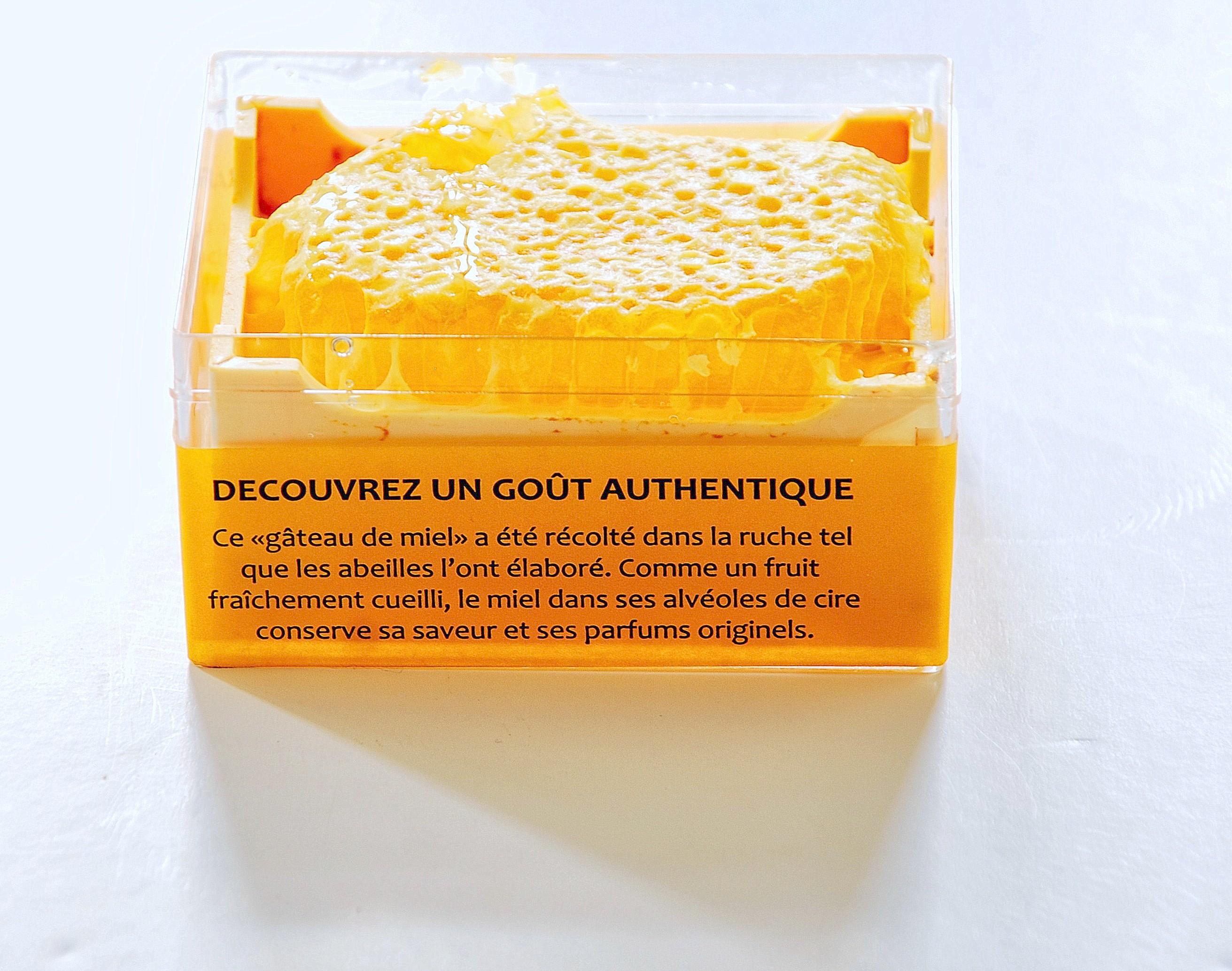 Miel en rayon mes ruches - La ruche a miel ...